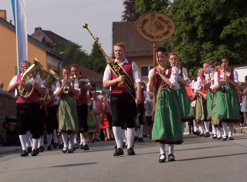 Beim Bürgerfest